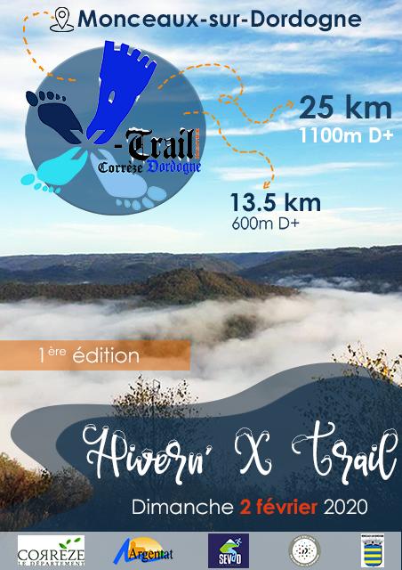 1er Hivern'X Trail !